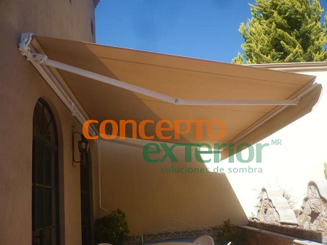 Concepto exterior toldo european brazo invisible for Como colocar un toldo de brazos invisibles