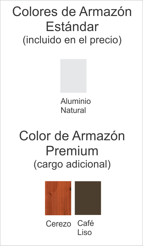 Color armazon