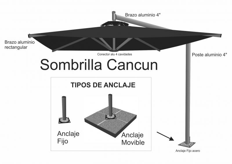 Sombrilla Cancun