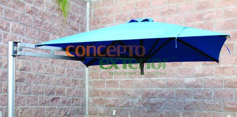 Sombrilla Flexishade 2.10m