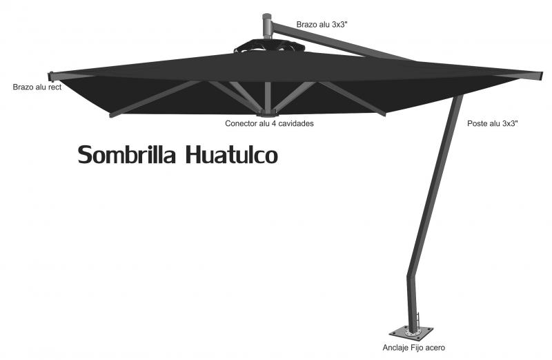 Huatulco profile drawing