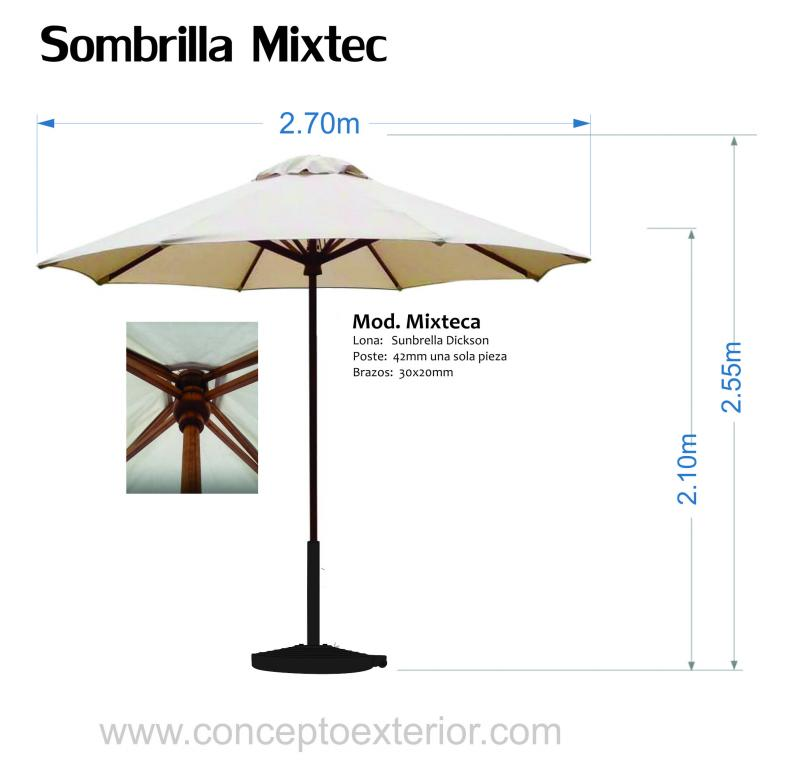 Sombrilla Mixteca