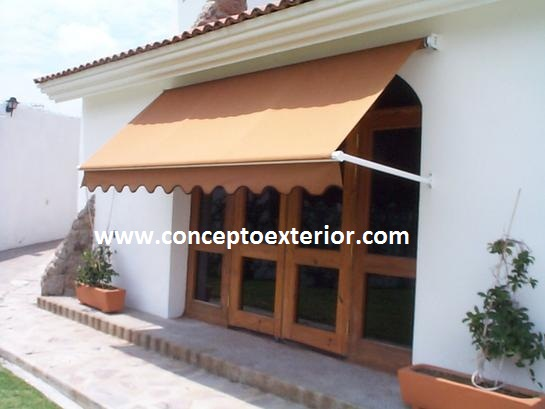 Toldo Enrollable Brazo Lateral